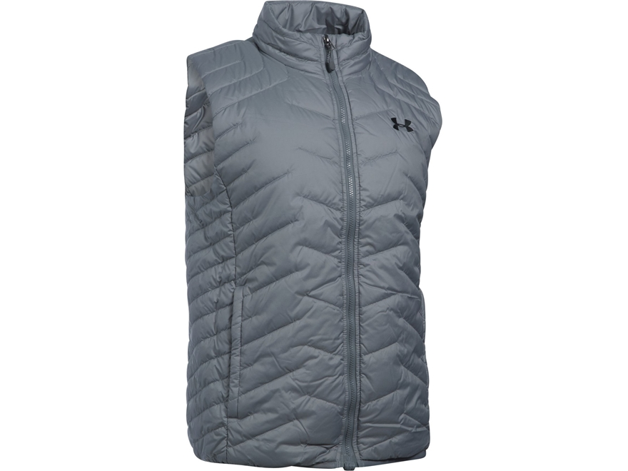 Under Armour Men's UA ColdGear Reactor Insulated Vest Polyester and Nylon Steel Large
