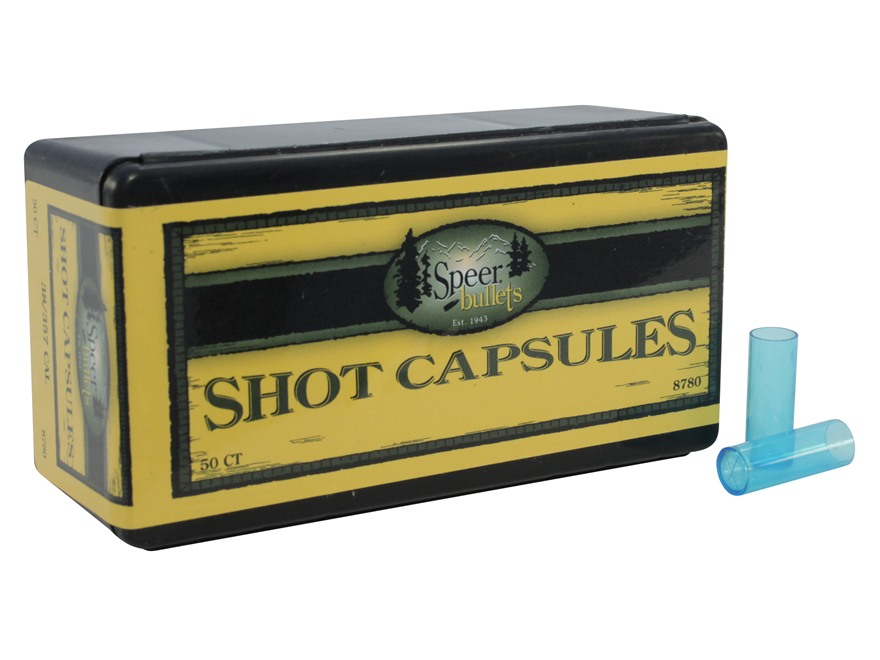 Speer Empty Shot Capsules 38 Special Box of 50