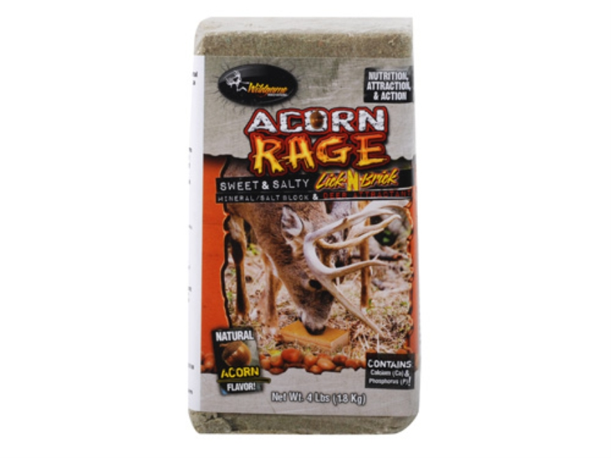 Wildgame Innovations Acorn Rage Deer Supplement Block 4 lb