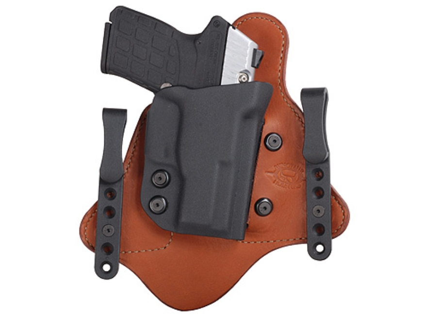 Comp-Tac Minotaur MTAC Inside the Waistband Holster Right Hand Kel-Tec PF9 Kydex and Le...