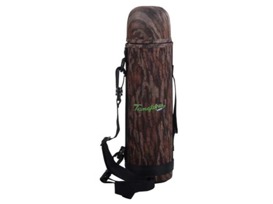 Tanglefree Thermos 32 oz with Neoprene Cover Mossy Oak Bottomland Camo