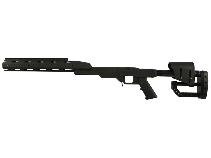 TACMOD Sniper Chassis System Folding Stock Modular Handguard Reminton 700 Long Action B...
