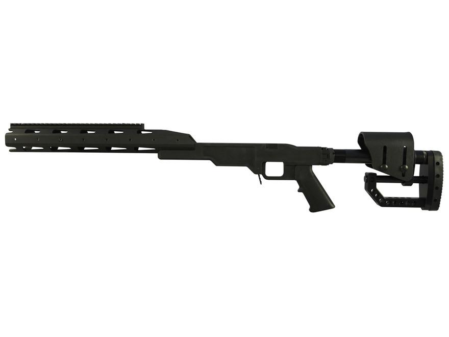 TACMOD Sniper Chassis System Folding Stock Modular Handguard Reminton 700 Short Action ...