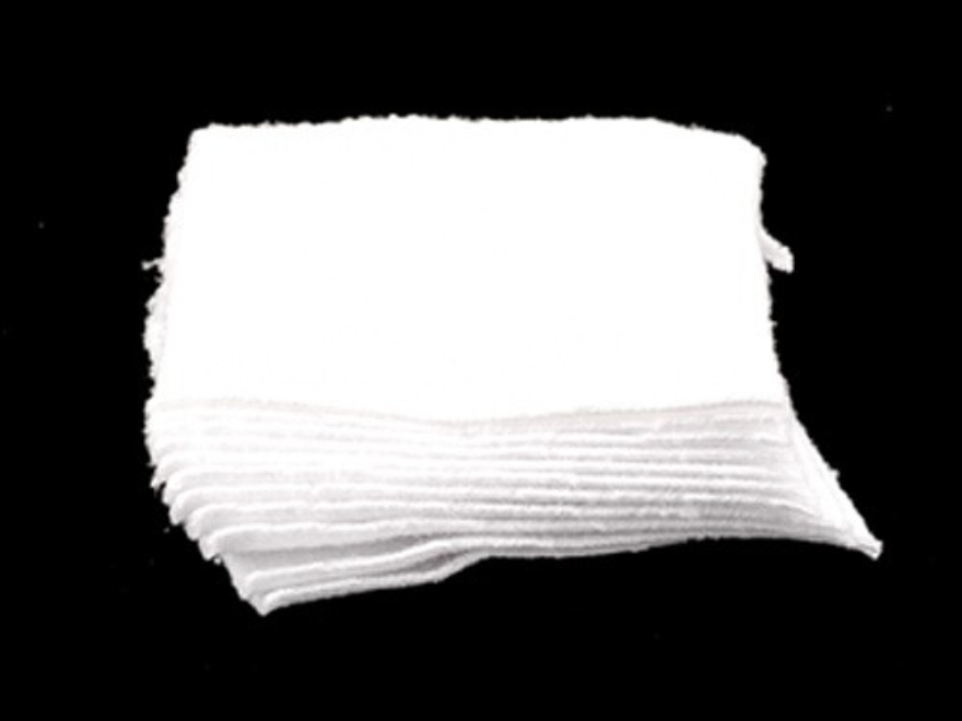 """Southern Bloomer Gun Cleaning Patches 35 to 45 Caliber Square Cotton 2-1/2"""" x 2-1/2"""" Pa..."""