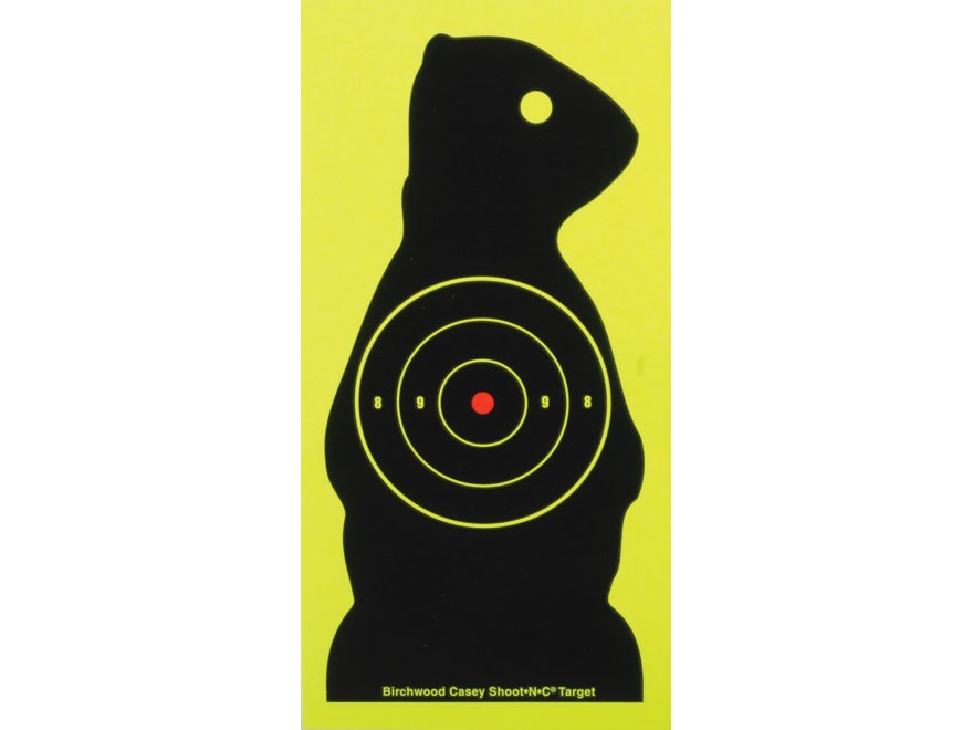 Birchwood Casey Shoot-N-C Target Prairie Chuck Package of 12