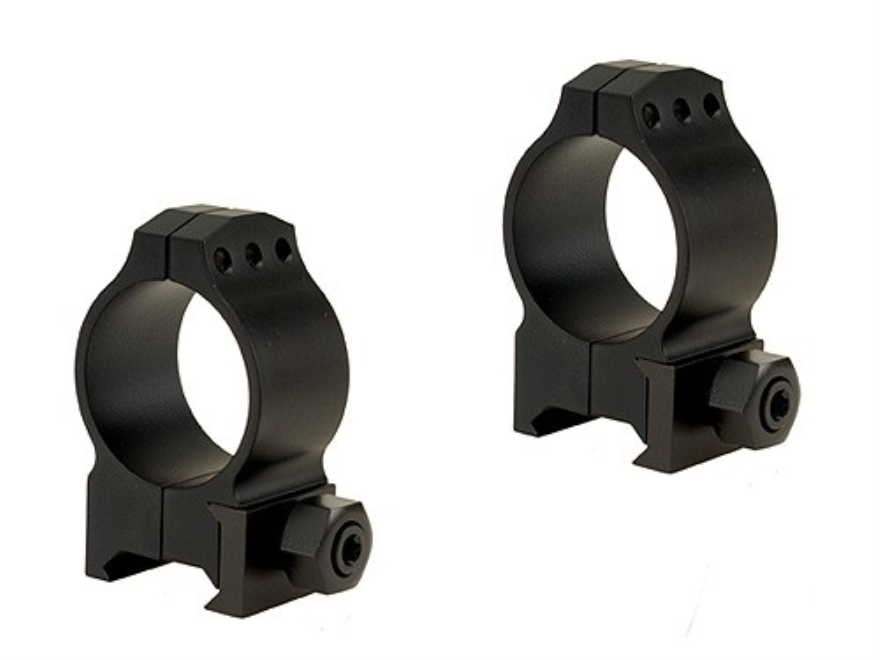 Warne 30mm Tactical Picatinny-Style Rings Matte