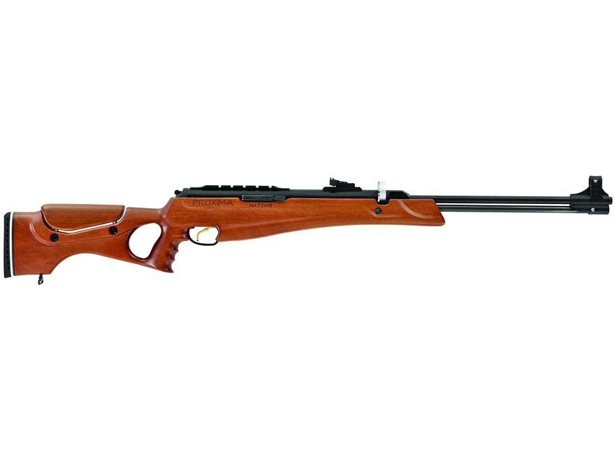 Hatsan Proxie Break Barrel Air Rifle Pellet Wood Stock Blue Barrel