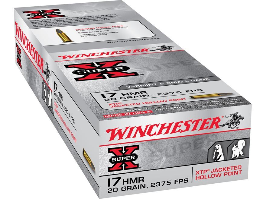 Winchester Super X Ammo 17 Hornady Mag Rimfire UPC