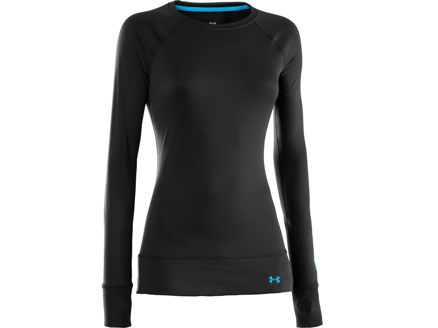 Under armour women 39 s ua base 2 0 crew base layer upc for Womens base layer shirt