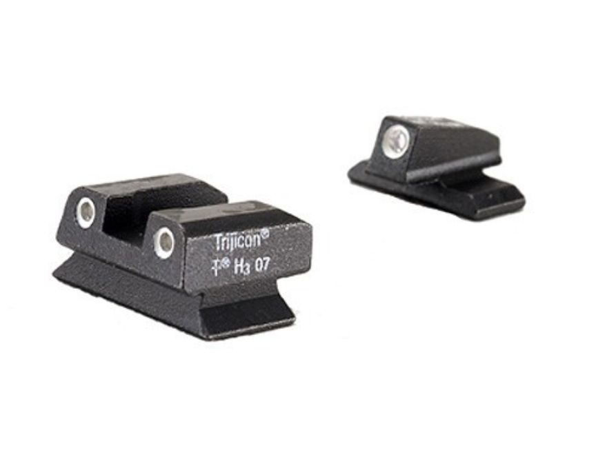 Trijicon Night Sight Set Beretta PX4 Storm Steel Matte 3-Dot Tritium Green