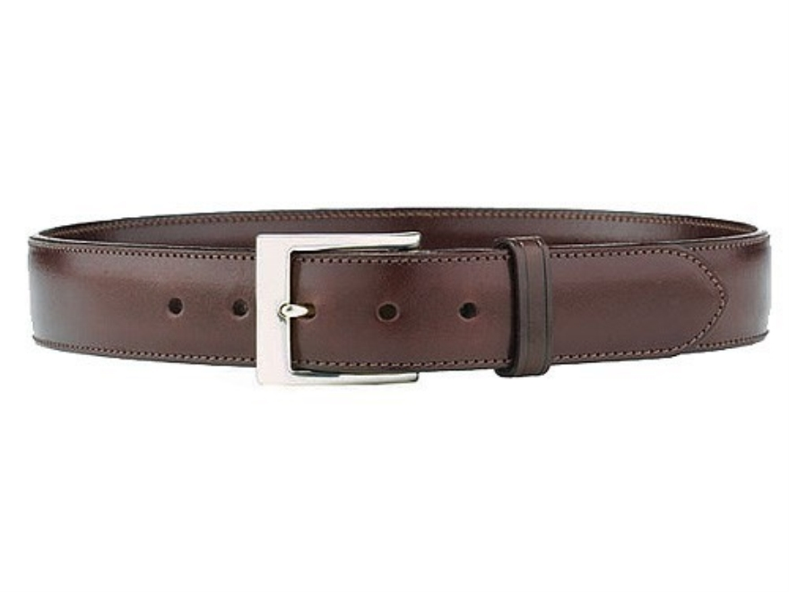 galco sb3 belt 1 1 2 nickel plated brass buckle leather