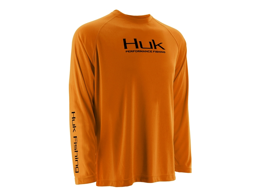 Huk Men's Icon Performance Shirt Long Sleeve Polyester