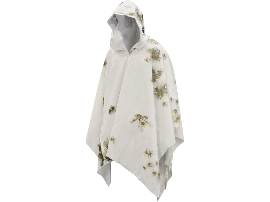Military Surplus German Poncho Snow Camo