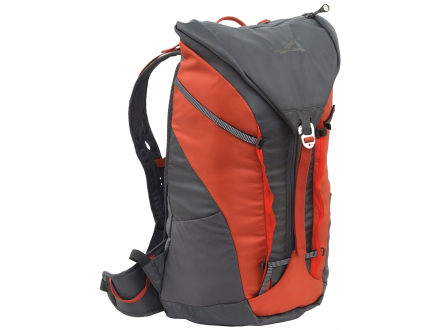 ALPS Mountaineering Edge 24 Backpack Polyester Orange and Gray