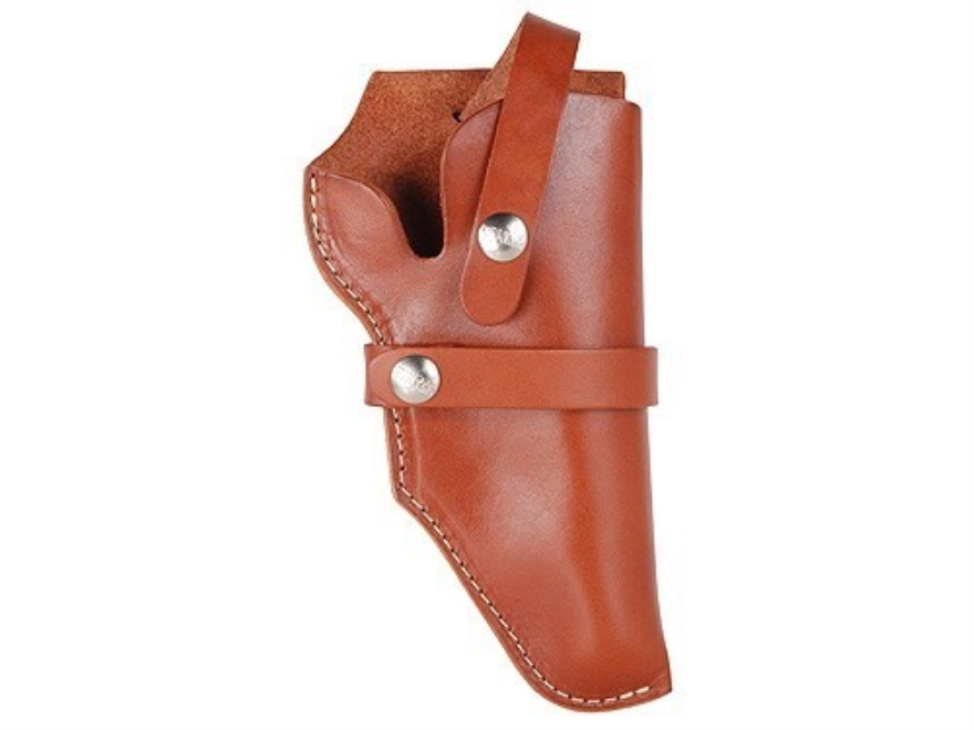 Hunter Hip Belt Holster Right Hand Taurus Judge Leather Brown