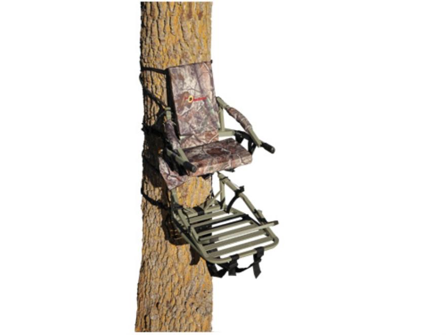 API Outdoors Bowhunter Climbing Treestand Aluminum Realtree AP Camo