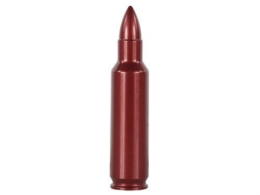 A-ZOOM Action Proving Dummy Round, Snap Cap 325 Winchester Short Magnum (WSM) Aluminum ...