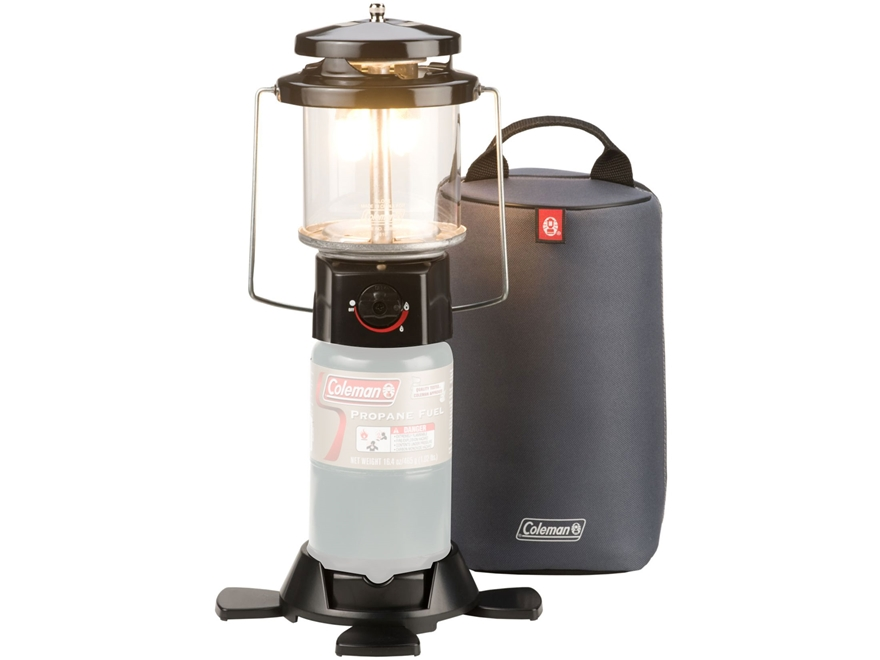 Coleman Deluxe 970 Lumen Propane Lantern with Case