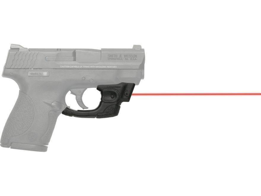 LaserMax Centerfire Red Laser Sight S&W M&P Shield Black