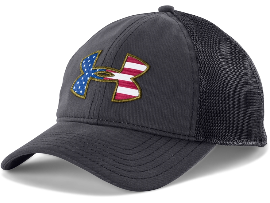Under Armour UA BFL Mesh Cap Polyester Navy Blue One Size Fits All