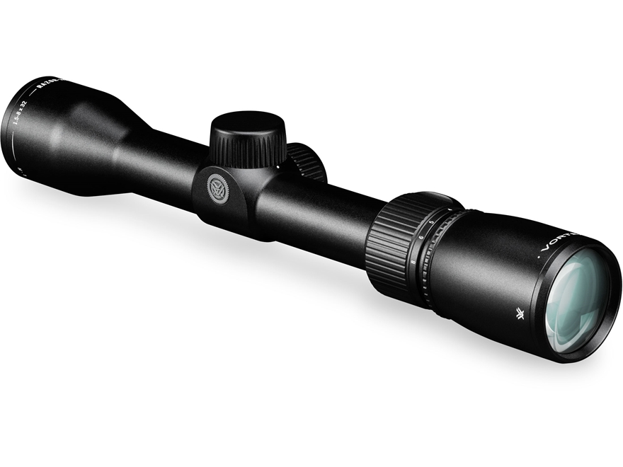 Vortex Optics Razor HD Light Hunter Rifle Scope 1.5-8x 32mm G4 BDC Reticle Stealth Shad...