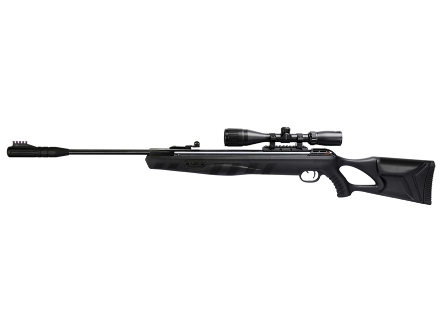Umarex Octane Elite Break Barrel Air Rifle Pellet Black Polymer Stock Blued Barrel with...