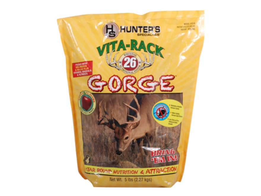 Hunter's Specialties Vita-Rack 26 Gorge Apple Deer Supplement Granular 5 lb