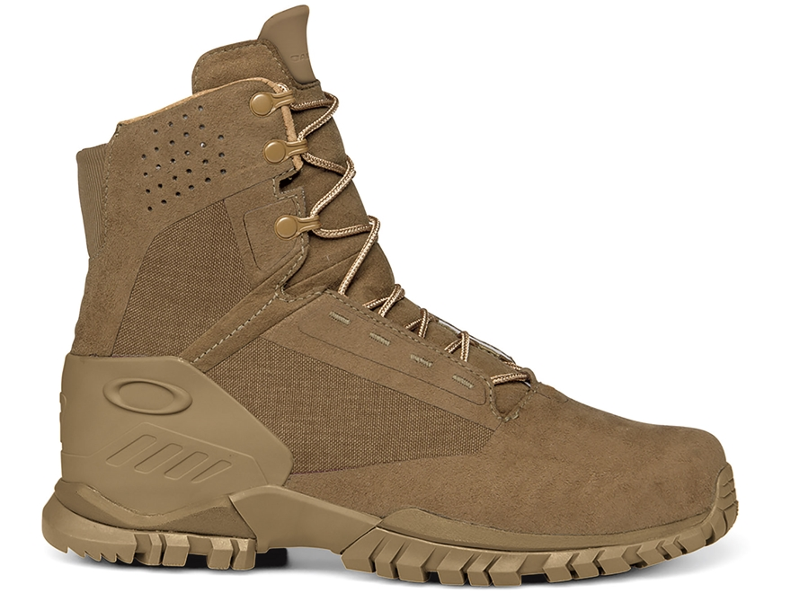 "Oakley SI-6 6"" Tactical Boots Leather Coyote Men's"
