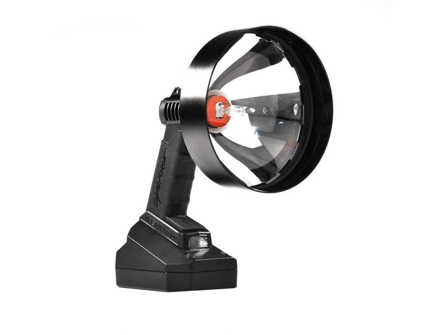 Lightforce Enforcer 170 Halogen Variable Power Handheld Spotlight 12V Plug-In and Allig...