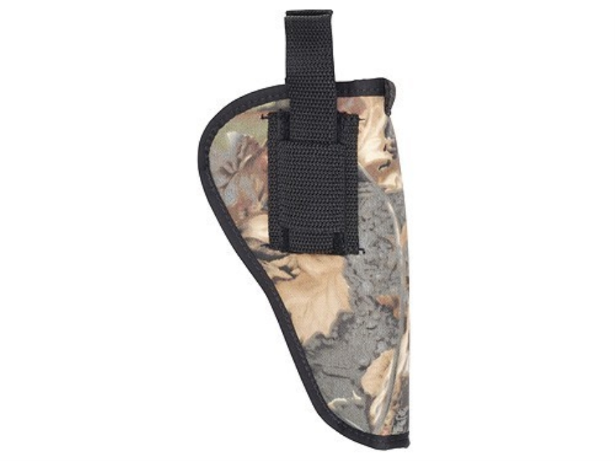 "Soft Armor Belt Holster Ambidextrous Taurus Judge 4"" Nylon Camo"