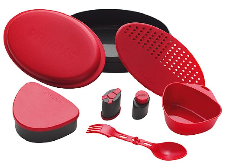 Primus Camping Meal Set Poylmer Red