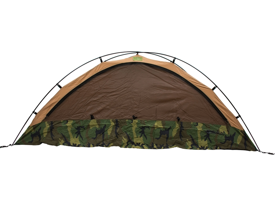 military surplus one person combat tent tcop grade 1 woodland camo