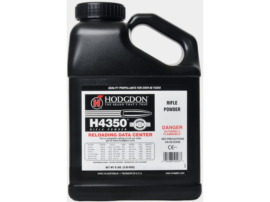Hodgdon H4350 Smokeless Powder