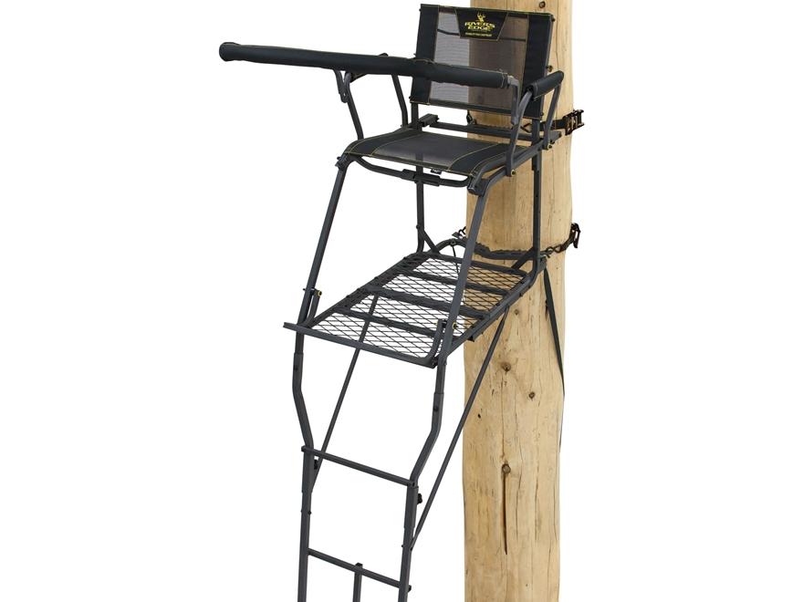 Rivers Edge SCYT XT Single Ladder Treestand Steel Black