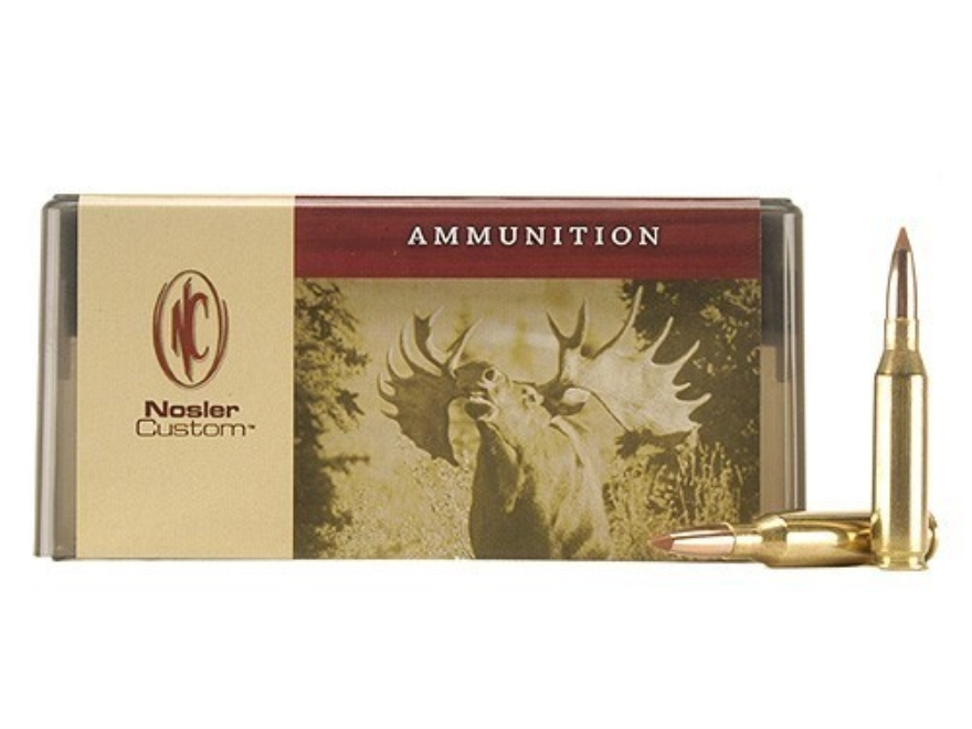 Nosler Custom Ammunition 260 Remington 100 Grain Ballistic Tip Hunting Box of 20