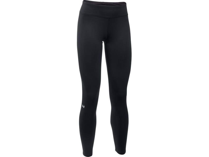 Under Armour Women's UA Base 1.0 Base Layer Pants Polyester Black