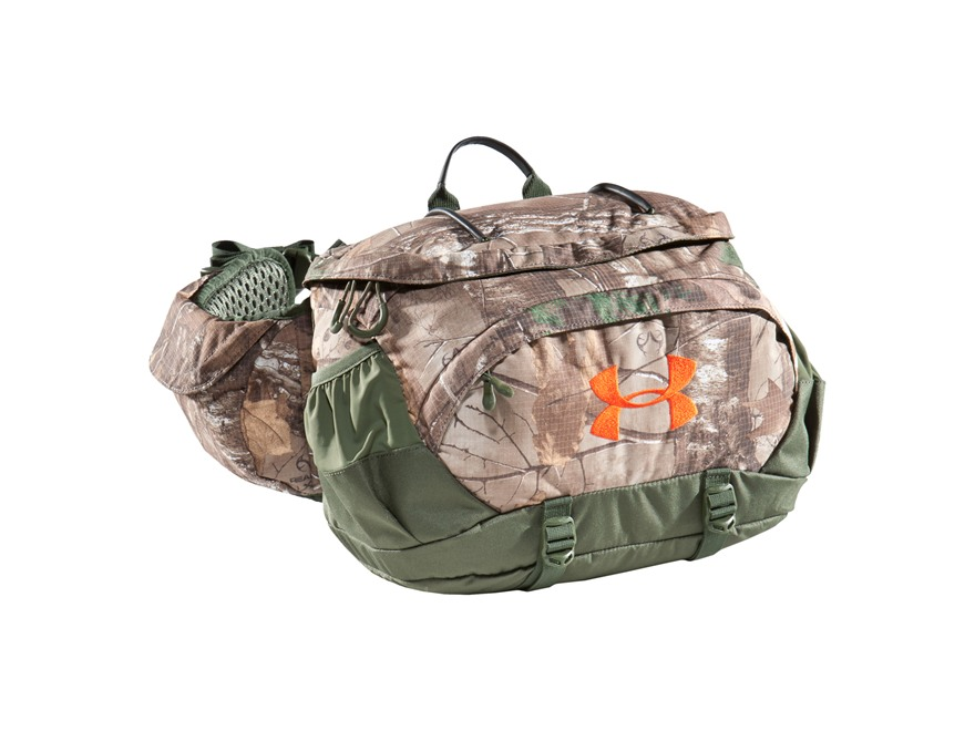 Under Armour UA Ridge Reaper Fanny Pack Polyester and Nylon Realtree Xtra Camo