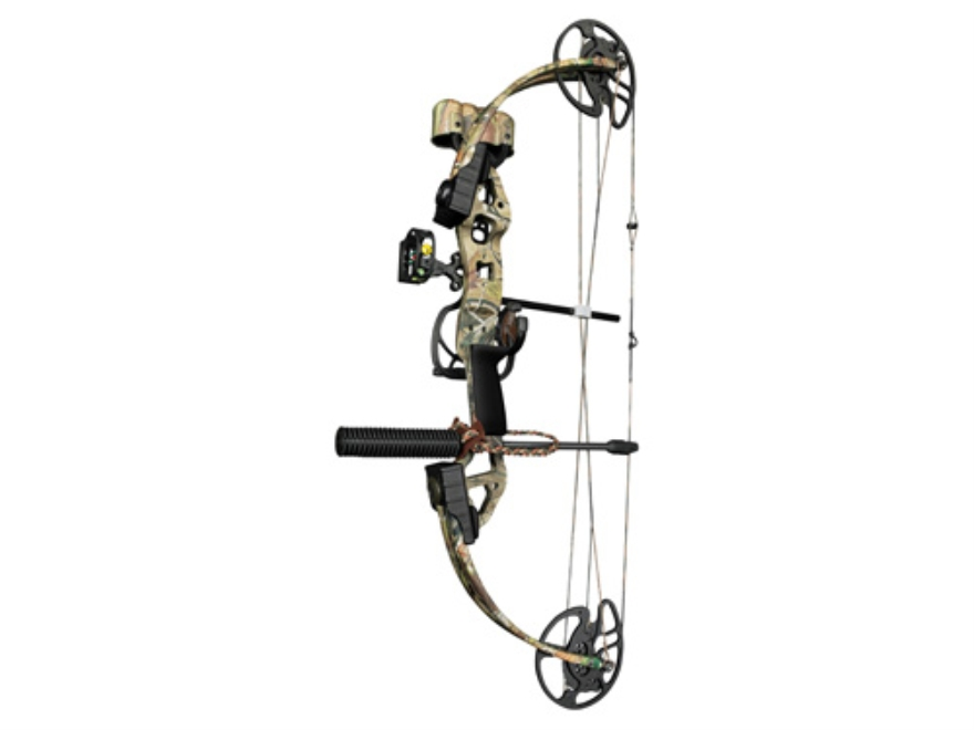 "Bear Archery Outbreak RTH Compound Bow Package Right Hand 15-70 lb 16""-30"" Draw Length ..."