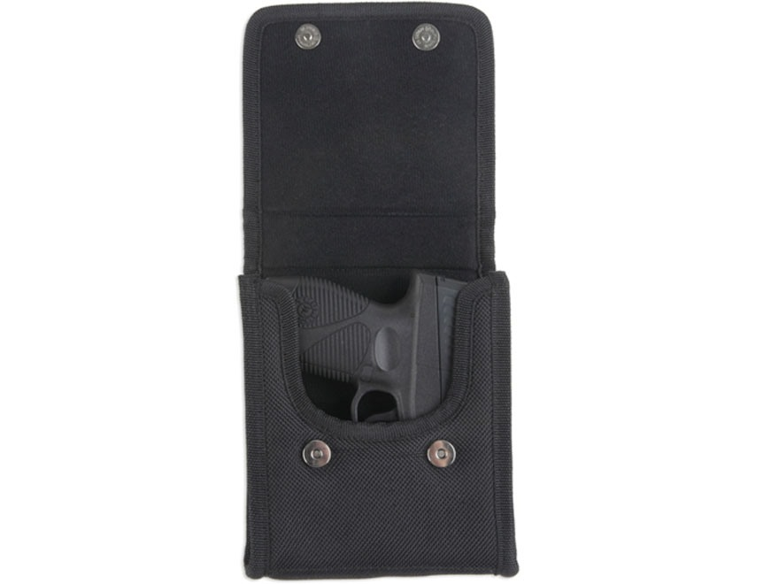 Bulldog Vertical Cell Phone CCW Holster Ambidextrous Fits Sub-Compact Autos Nylon Black