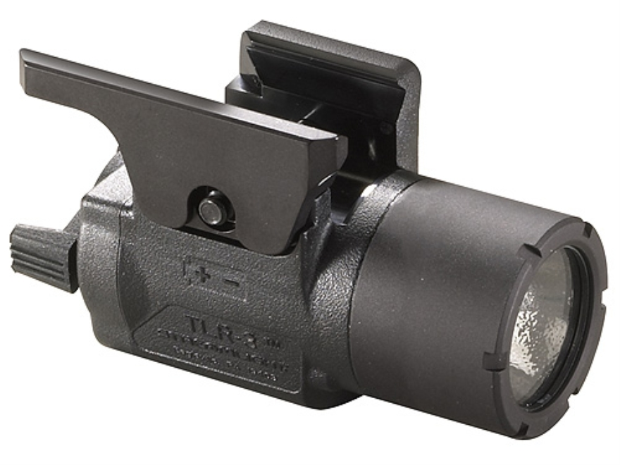 Streamlight TLR-3 Weaponlight LED with 1 CR123A Battery fits HK USP Polymer Black