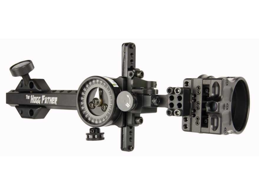 "Spot-Hogg Wrapped Hogg Father 1-Pin Bow Sight .019"" Pin Diameter Small Guard Right Hand..."
