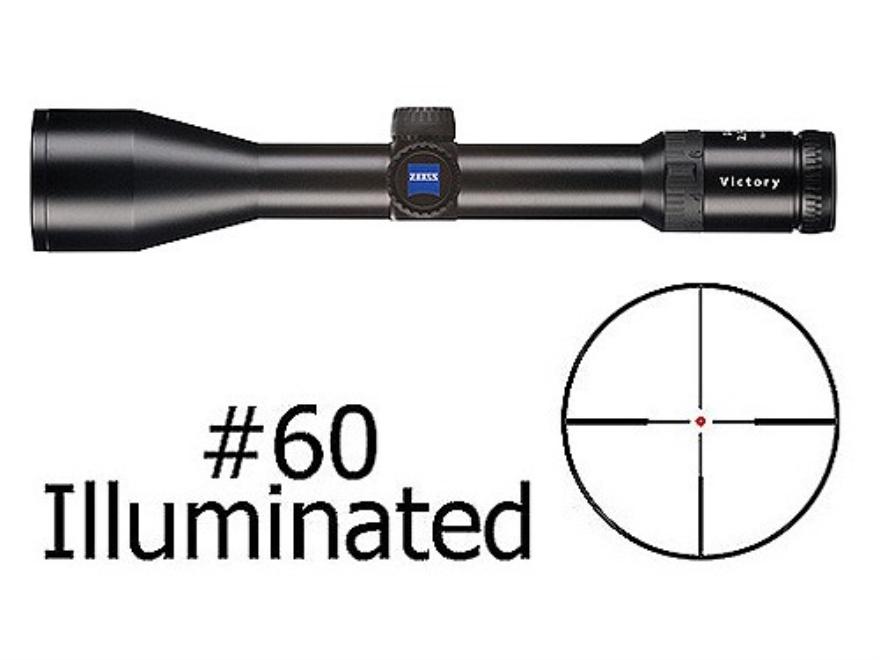 Zeiss Diavari VM/V Rifle Scope 30mm Tube 2.5-10x 50mm Illuminated #60 Reticle Matte