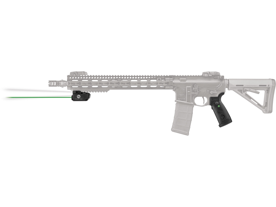 Crimson Trace LiNQ Wireless Green Laser Sight for AR-15 or MSR Style Rifles with Picati...