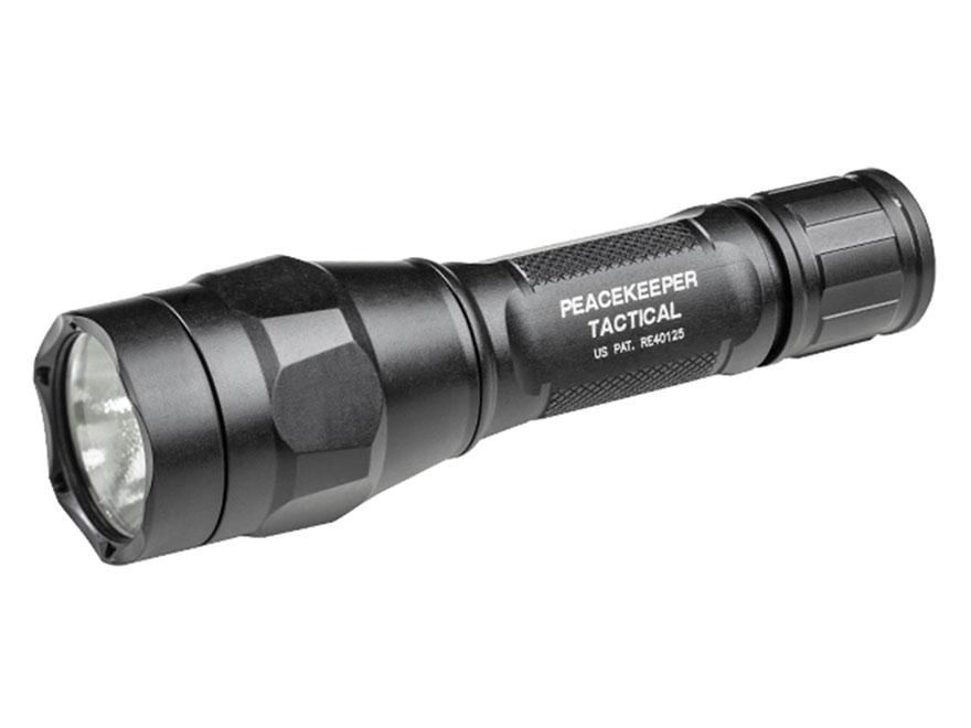 Surefire P1R Peacekeeper Rechargeable Flashlight LED with 1 18650 Battery Click Switch ...