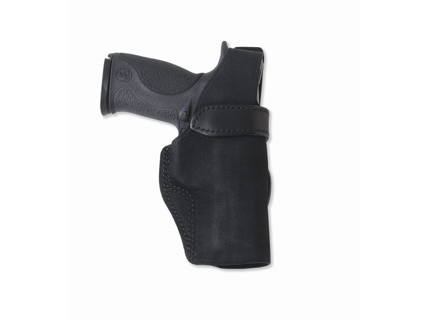 "Galco Wraith Belt Holster Right Hand Ruger LCR 38 Special 2"" Barrel Leather Black"
