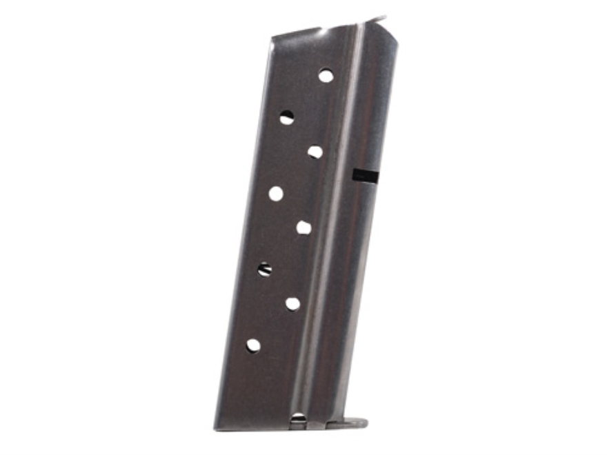 Metalform Magazine 1911 Officer Springfield 9mm Luger 8-Round Stainless Steel Flat Foll...