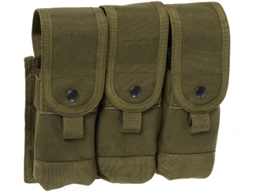 BLACKHAWK! S.T.R.I.K.E. Speed Clip Triple Coupled Magazine Pouch Holds Six Coupled AR-1...