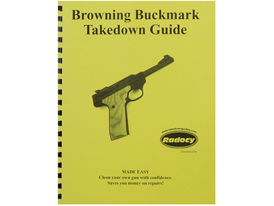 "Radocy Takedown Guide ""Browning Buckmark"""