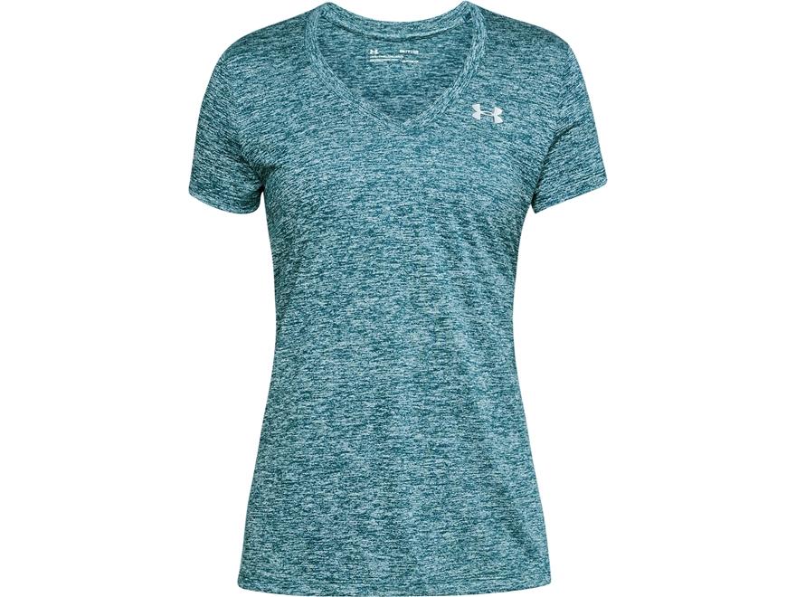 Under Armour Women's UA Tech V-Neck T-Shirt Short Sleeve Polyester