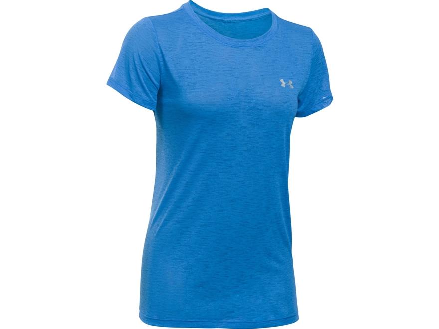 Under Armour Women's UA Tech Crew T-Shirt Short Sleeve Polyester